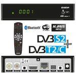 Edision Receptor COMBO DVB-S2 + Cabo/TDT DVB-T2/C Full HD Wi-Fi/BT (Linux/Enigma2) - OS-NINO+