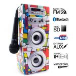 CN Joybox Karaoke Bluetooth Picasso - 51608