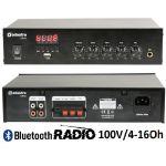 Adastra Amplificador Com Usb/fm E Bluetooth 100v/4-16ohm - DM40