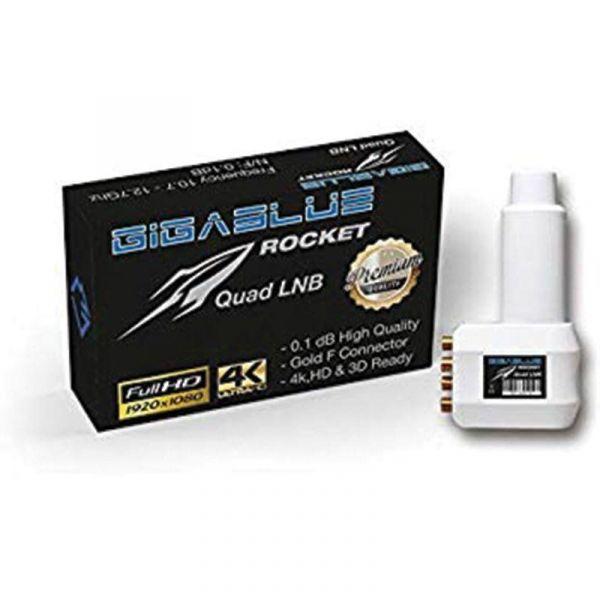 GigaBlue LNB Quad Ultra Rocket SATLNBTIN007