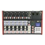 Fonestar Mesa Pro 08 Vias Citronic CSM-8 usb / Bluetooth - 5015972210185