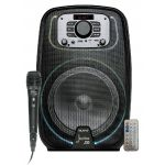 "Biwond Joybox J30 Coluna Amp. Portátil 8"" 250w com Usb/sd/mp3/fm/bluetooth"