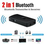 Transmissor e Recetor Bluetooth 2 em 1
