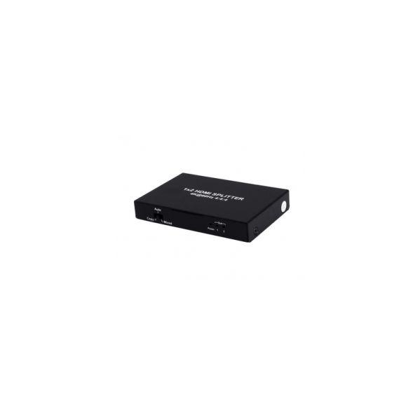 SPLITTER HDMI 2.0 1X2 4K?60Hz UHD, 18GB, HDR, EDID TCSPLITS242KEDID