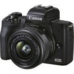 Canon EOS M50 Mark II + 15-45mm f/3.5-6.3 IS STM Preto - 15639