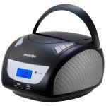 Brigmton Rádio Cd W-411-BT Mp3 usb Black Bluetooth