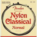 Fender Jogo de Cordas Nylon Guitarra Clássica 130 Tensão Média 0.28-0.43