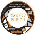 Iberosat Cabo Coaxial ITED RG6 PLUS CU 100m - RG6PLUSCU