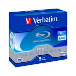 Verbatim BD-R 50GB Double Layer 6x (5 Un) - 43748