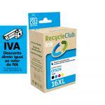 Conjunto 4 Tinteiros Epson 16 XL - T1631/2/3/4 (T1635) Compatíveis