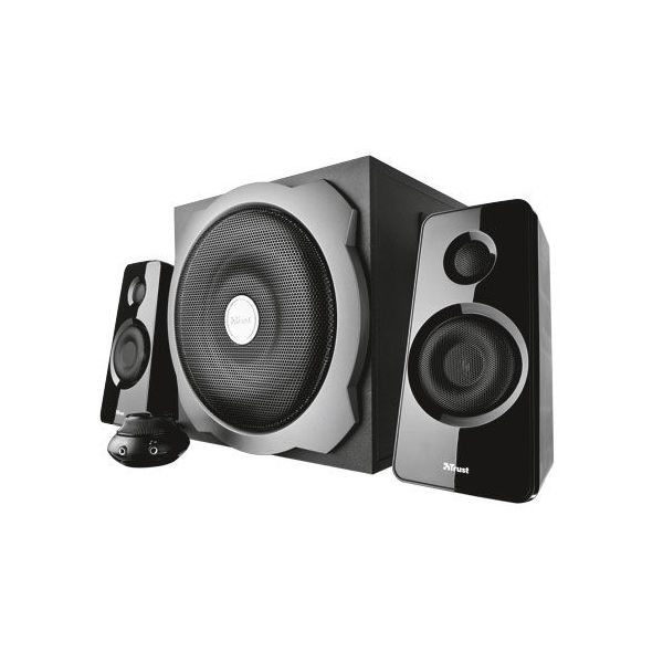 Trust Tytan 2.1 Subwoofer Speaker Set Black - 19019