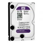 Disco Rígido Western Digital 2TB 3.5 Purple 5400rpm SATA III 64MB - WD20PURX