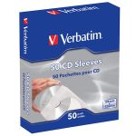 Verbatim CD Sleeves Paper 50 unidades - 49992