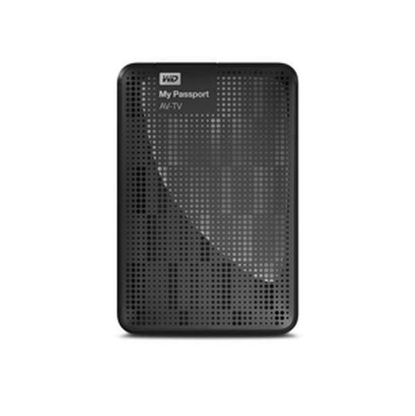 Western Digital 1TB My Passport AV-TV USB 3.0 - WDBHDK0010BBK-EESN