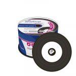 Mediarange CD-R 700MB/80min Vinyl Discs Printable Cake 50 - MR226