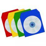 Mediarange Bolsa CD Papel Colorpack c/Janela Pack 100 - BOX67