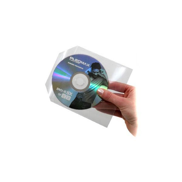 Mediarange Bolsa CD Plastico Pack 50 - BOX64