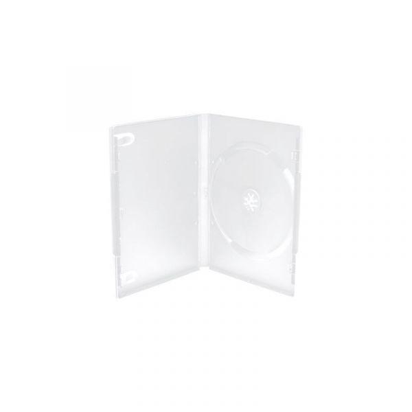 Mediarange Capa DVD 1 Disco 14mm Transparente Quality - BOX25-M