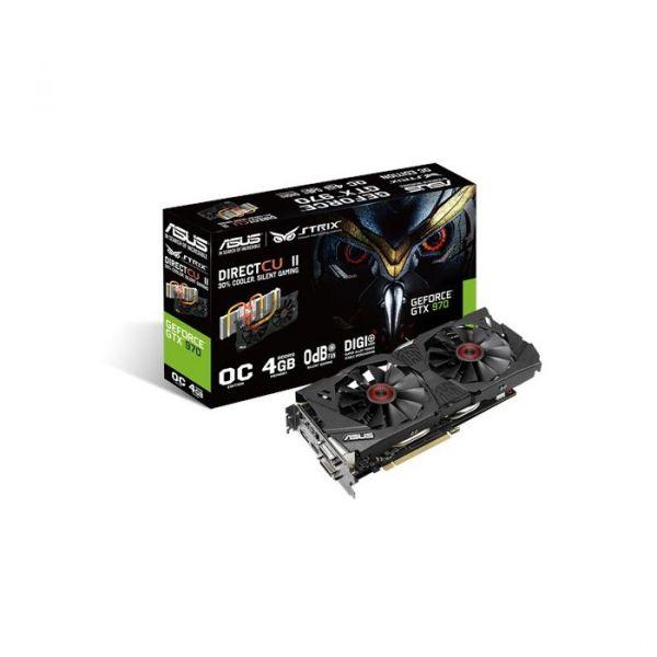 Asus GeForce GTX970 Strix DirectCU II OC 4GB GDDR5 - 90YV07F0-M0NA00