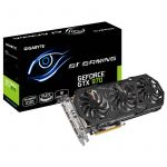 Gigabyte GeForce GTX970 WindForce OC 4GB GDDR5 (PCI-E) - GV-N970G1 GAMING-4GD