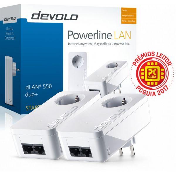 Devolo dLAN 550 duo+ Starter Kit Powerline - PT9303