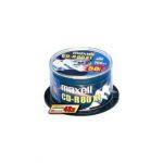Maxell Cd-r 80 52X 700MB Torre 100-624841.41.CN - 624841.41.CN