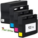 Tinteiro HP 933XL CN056A Yellow Compatível