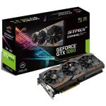 Placa Gráfica Asus GeForce GTX1060 ROG Strix OC 6GB GDDR5 (PCI-E) - 90YV09Q0-M0NA00