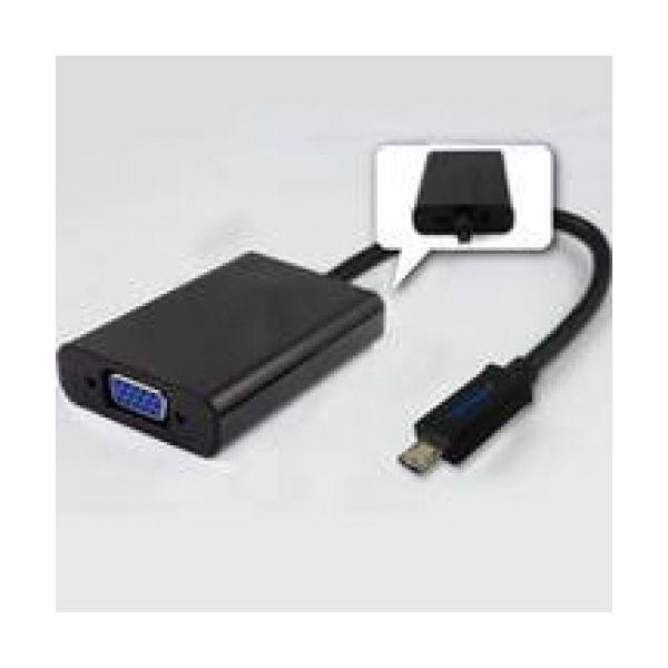Adaptador MHL (Micro USB 11P) p/ VGA Fêmea