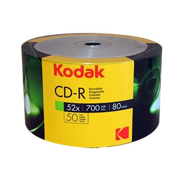 Kodak CD-R 52x 700MB 50 unidades - K1210150