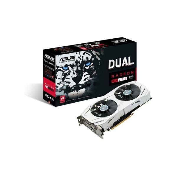 Asus Radeon RX480 Dual OC 4GB GDDR5 (PCIE) - 90YV09I0-M0NA00