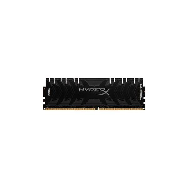 Memória RAM Kingston 32GB HyperX Predator (4x 8GB) DDR4 3200MHz CL16 XMP Black - HX432C16PB3K4/32