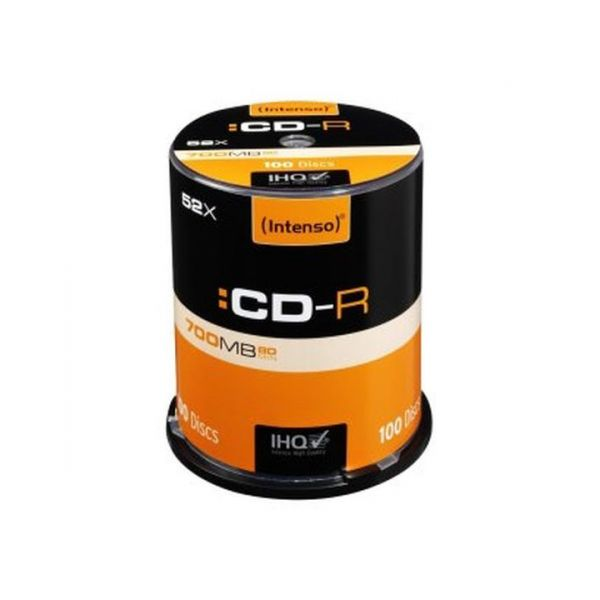 Intenso CD-R 80 / 700MB 52x Speed Pack 100