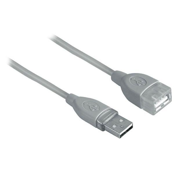 Hama Cabo Extensao USB M/F (0,5Mts)