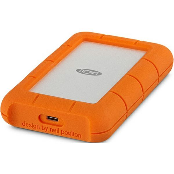 Disco Externo LaCie 4TB Rugged Mobile Drive USB-C- STFR4000400