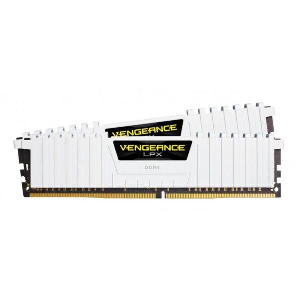 Memória RAM Corsair 16GB Vengeance LPX (2x 8GB) DDR4 3200MHz PC4-25600 CL16 - CMK16GX4M2B3200C16W