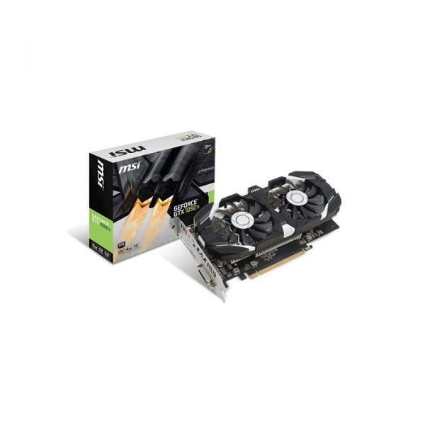 MSI GeForce GTX1050 Ti OC 4GB GDDR5 - GTX1050TI-4G-OC