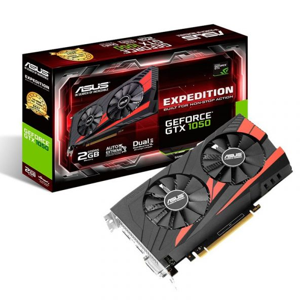 Asus GeForce GTX1050 Expedition 2GB GDDR5 90YV0A82-M0NA00