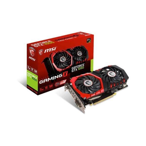 MSI GeForce GTX1050 GAMING X 2GB GDDR5 - 912-V335-007