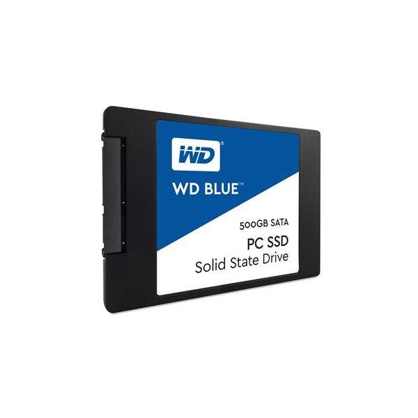 """Western Digital 500GB Blue SATA III 2.5"""" SSD - WDS500G1B0A"""