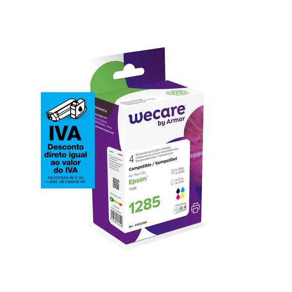 Pack de 4 Tinteiros Epson T1281 Compatíveis