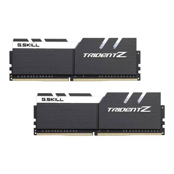 Memória RAM G.Skill 16GB Trident Z (2x 8GB) DDR4 3200MHz PC4-25600 CL15 Black/White - F4-3200C15D-16GTZKW