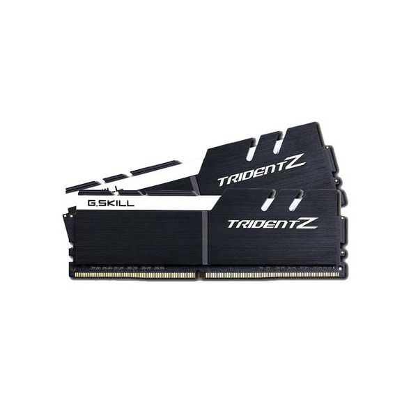 Memória RAM G.Skill 16GB Trident Z (2x 8GB) DDR4 3200MHz PC4-25600 CL16 Black/White - F4-3200C16D-16GTZKW
