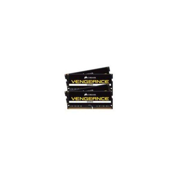 Memória RAM Corsair 64GB Vengeance Pro (4x 16GB) DDR4 2400Mhz PC4-19200 CL16 - CMSX64GX4M4A2400C16