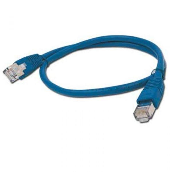 iggual Tubo Flexível FTP Cat.5e 0.5 m Blue