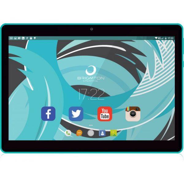 "Tablet Brigmton BTPC-1019QC-A 10"" 16GB IPS Blue"