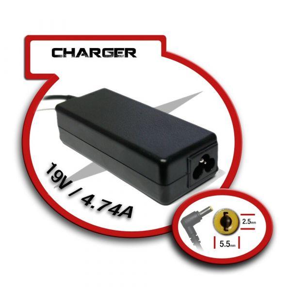 AC Adapter para Portatil 19V/4.74A 5.5mm X 2.5mm 90W - 4902