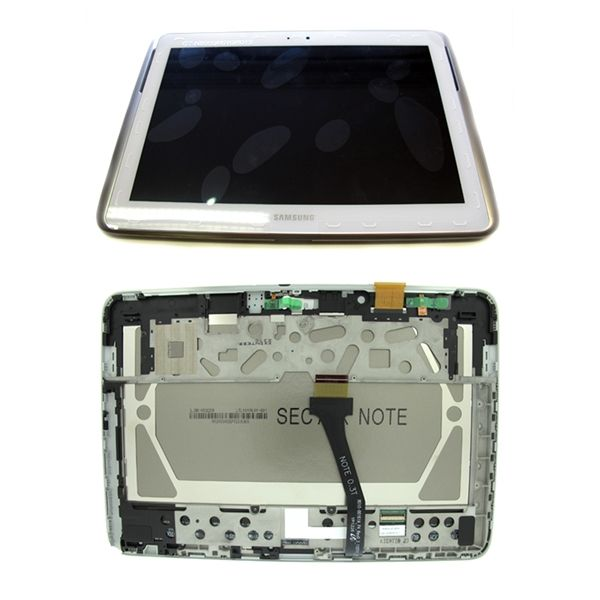 Display + touch Samsung N8000 Galaxy note 10.1 Branco - 3852