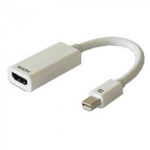 Ntech Adaptador Mini Display-Port 1.2 para HDMI F 1.4