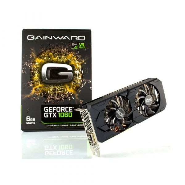 Gainward GeForce GTX1060 6GB GDDR5 3712